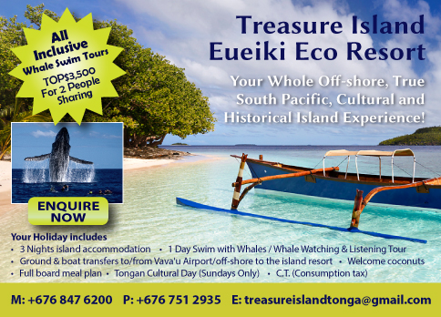 swim whales hot deal tonga special offer